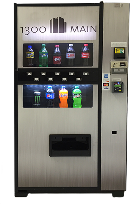 Stacker Drink Vending Machine